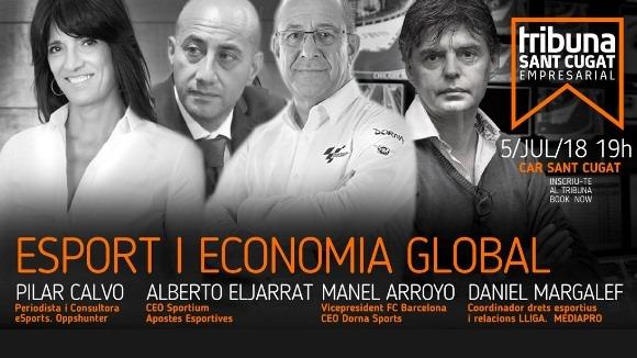 3r Tribuna Sant Cugat Empresarial: 'Esport i economia global'