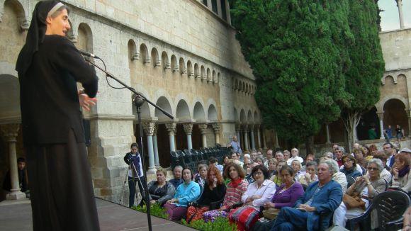 La monja més mediàtica de Catalunya, a Sant Cugat