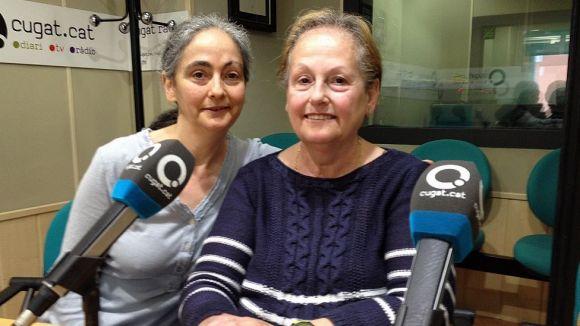 Georgina i Teresa Giménez expliquen històries de Cal Crispín