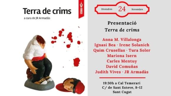 Presentació de llibre: 'Terra de crims'