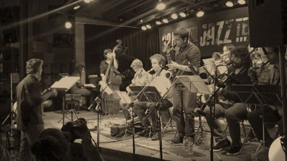 El Siglo Mercantic, la segona casa de David Mengual Free Spirits Big Band