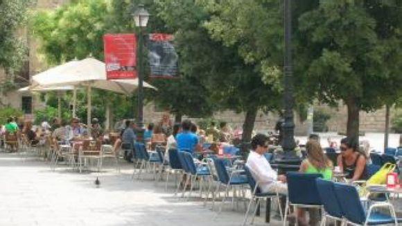 Una ordenança regularà les terrasses en els espais públics de Sant Cugat