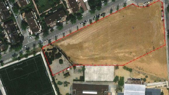 L'AMPA del Catalunya demana treure una parcel·la del futur complex esportiu de Mira-sol per ampliar el pati