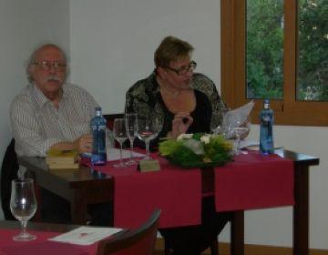 Joan Anton Benach tanca el cicle de 'Tertúlia amb amics' parlant del teatre de Baltasar Porcel