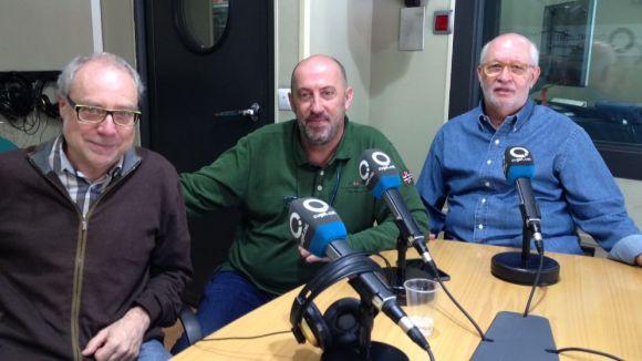 Jesús Galindo, Manel Delgado i Josep Maria Planas