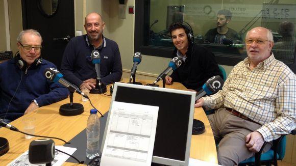 L'equip de tertulians, amb la baixa d'Àlex Masana, analitza l'actualitat futbolística de la setmana