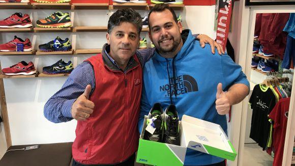 Paco Atienza i Aitor Losada, amb el premi