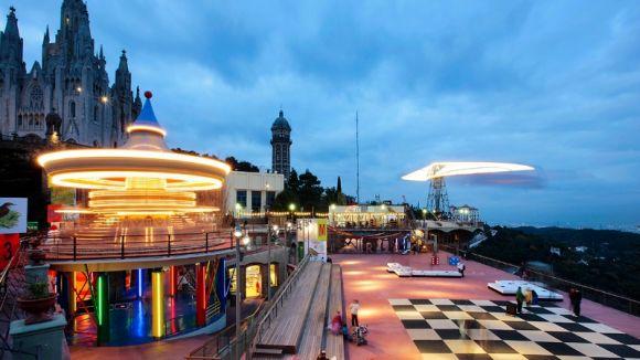 El Tibidabo obre un procés de selecció per a operadors d'atraccions i de restauració per a l'estiu