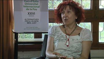 Tica Font (Unipau): 'Hem de canviar la forma de gestionar els conflictes'