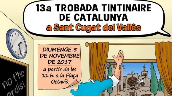 13a Trobada tintinaire de Catalunya a Sant Cugat (matí)