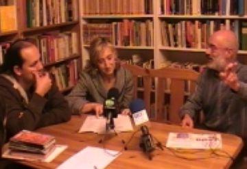 D'esquerra a dreta: Javier Carrera, Susanna Pellicer i Ramon Pros