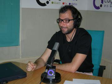 Toni Rodríguez durant l'entrevista