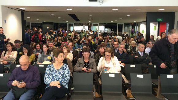 La relació entre els veïns i l'agrupament escolta de la Floresta, a l'audiència ciutadana