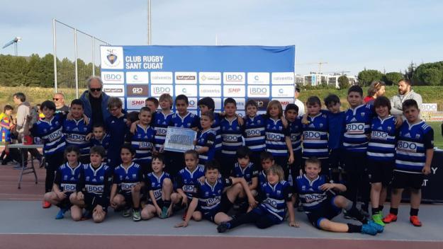 El Torneig Jon Reca és una festa pels joves de la base i les seves famílies / Font: Club Rugby Sant Cugat