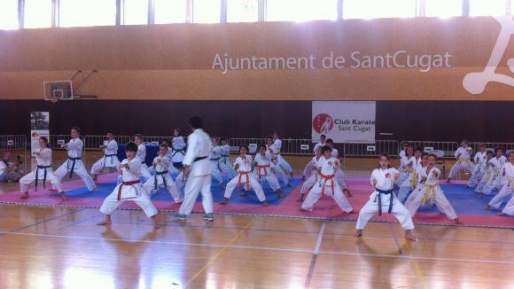 El Torneig de Festa Major del Karate Sant Cugat aplega uns 50 participants