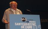 El guardó recuperarà la iniciativa dels Santcugate4ncs de l'Any, que es van atorgar per última vegada el 2003