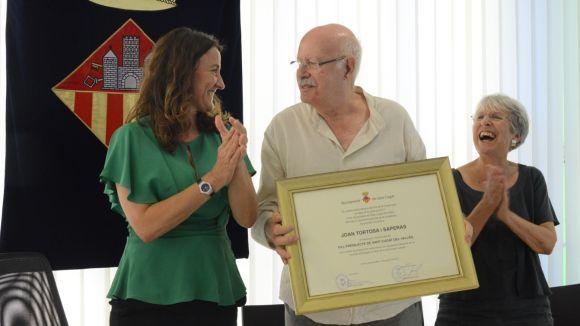 Sant Cugat nomena l'artista Joan Tortosa fill predilecte de la ciutat
