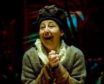 L'actriu Carmen Machi es converteix en una sàvia tortuga al Teatre-Auditori