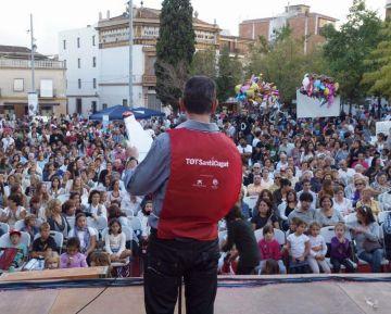 La festa solidària dels 25 anys del 'Tot Sant Cugat' recull 5.500 euros