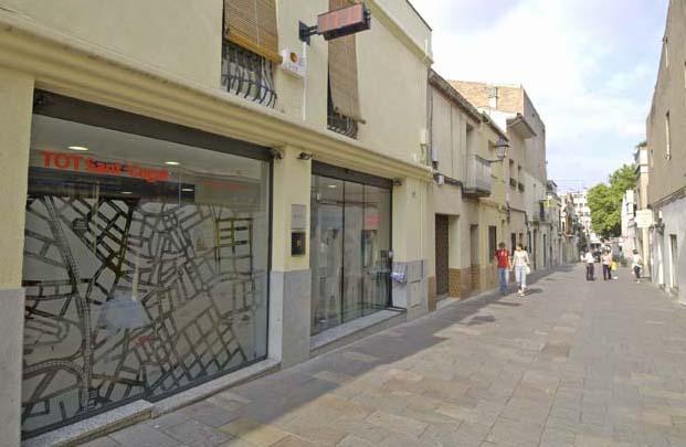 Les instal·lacions del setmanari, al carrer de Sant Antoni