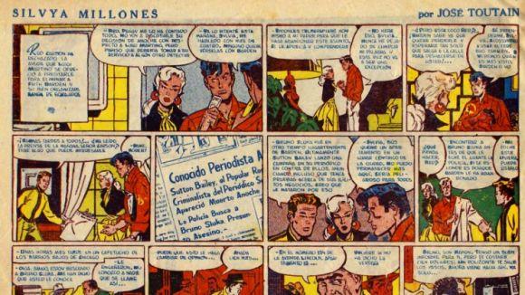 Els còmics Josep Toutain reviuen amb un documental sobre la seva obra