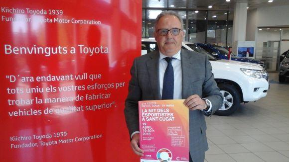 El gerent de Toyota Ippon Motor Vallès, Josep Maria Sala