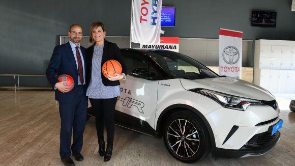 El motor dels premis: Toyota Ippon Motor Vallès mostra alguns dels seus vehicles a la Nit de l'Esport