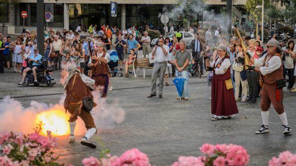 Els trabucaires de Sant Cugat no veuen sentit al reglament d'explosius del govern espanyol