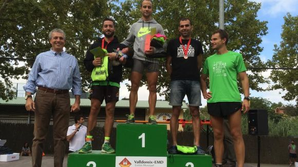 Carlos Herreras guanya la segona edició de la Trail Popular de Valldoreix / Font: EMD Valldoreix