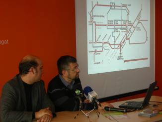ICV-EUiA buscarà el suport del ple al projecte del TramVallès