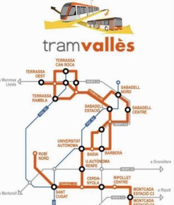 L'estudi informatiu del TramVallès ha d'incloure la connexió amb Sant Cugat, segons la plataforma