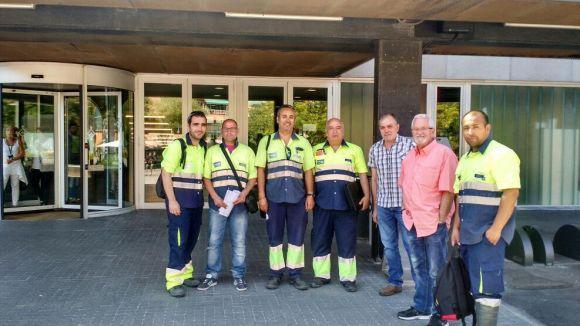 Els treballadors de Valoriza esperen una nova reunió per decidir si fan vaga