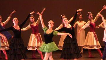 Una de les actuacions ha estat el 'Trencanous' de Txaikovski