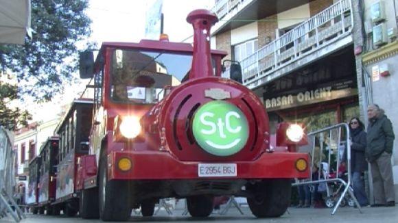 El Sant Cugat Express ja està en marxa per recórrer la ciutat durant aquest Nadal