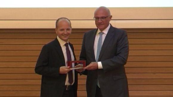 El físic i enginyer Xavier Trepat guanya el Premi Banc Sabadell de Biomedicina