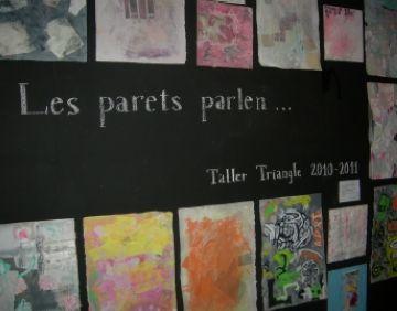 Una mostra sobre el temps recull la feina dels alumnes del Taller Triangle