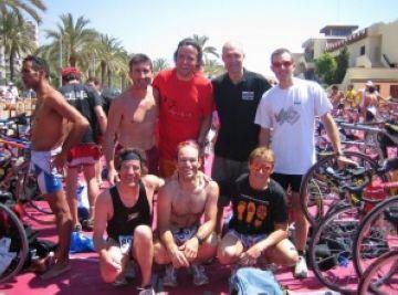 Temporada de lesions pels triatletes de la Unió Ciclista