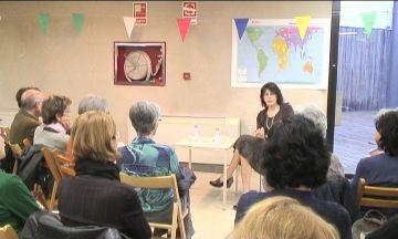 Imma Monsó, protagonista de la trobada de Sant Jordi dels grups de lectura de la ciutat