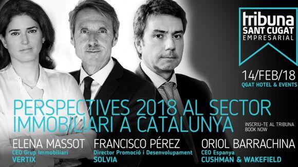 El segon Tribuna Sant Cugat Empresarial abordarà les perspectives del sector immobiliari a Catalunya