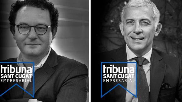 Aleix Valls i Ernest Quingles / Foto: Tribuna Sant Cugat Empresarial
