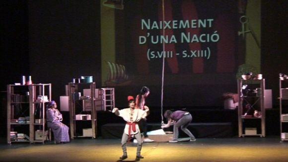 La història de Catalunya s'apropa als joves en forma de musical
