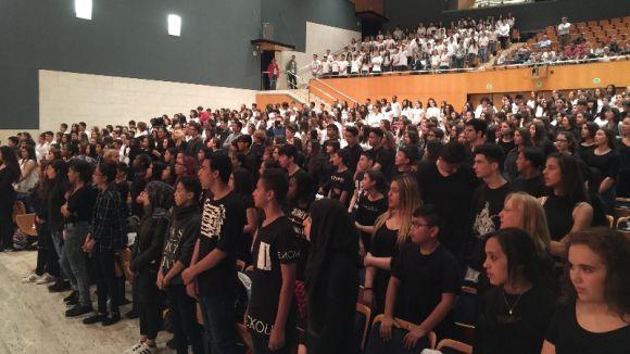 700 alumnes de 15 centres de secundària participen a Sant Cugat a la 22a trobada de corals