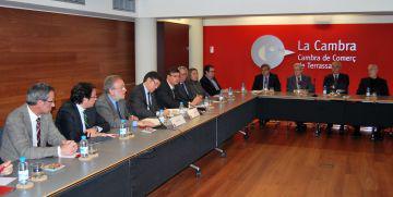 La Cambra demana a Recoder el Corredor Mediterrani i la connexió internacional del Prat