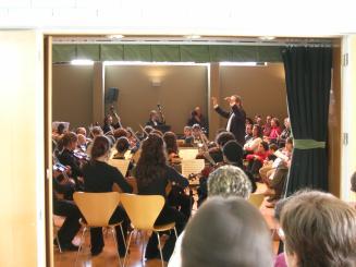 El concert anirà a càrrec de professors i alumnes i començarà a les set de la tarda