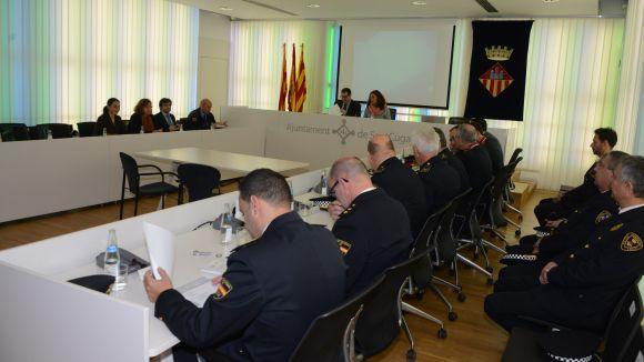 Els delictes a Sant Cugat, sota la mitjana catalana però amb més robatoris a cases