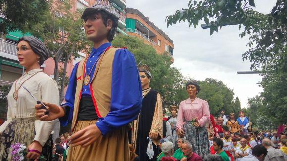 La 31a Trobada Gegantera aglutina colles d'arreu de Catalunya per Festa Major