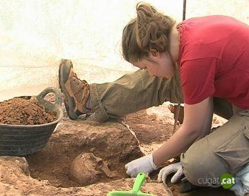 Cugat tv t'ensenya els treballs arqueològics a Can Cabassa