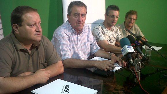 Roda de premsa conjunta de la uaSC i ACR
