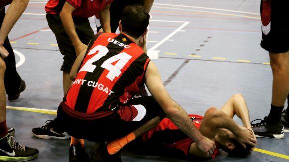 Moment de la lesió / Font: UESC