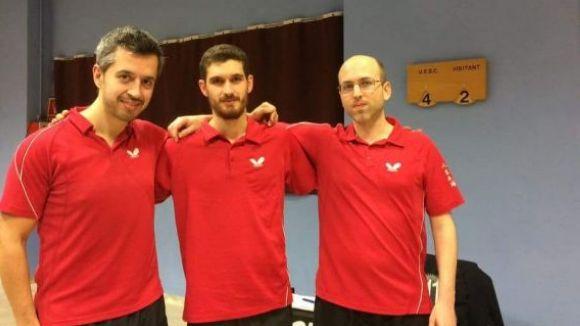 Una  UESC de tennis taula molt remodelada afronta el difícil repte de la permanència a Primera Nacional
